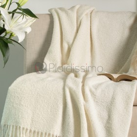 Luxury Mocca - Plaid 100% Baby Alpaga