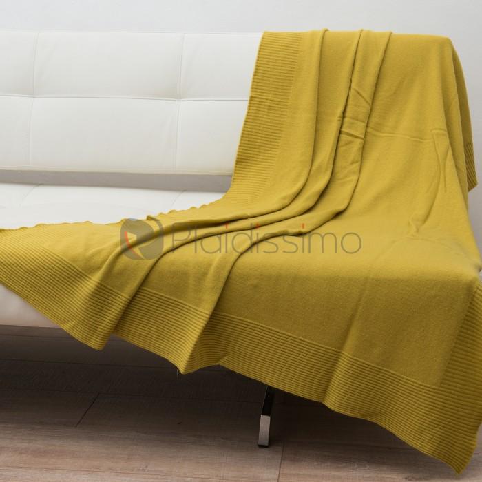 plaid en laine m rinos fin et l ger avec finition raffin e alexis taille taille 130 190 cm. Black Bedroom Furniture Sets. Home Design Ideas