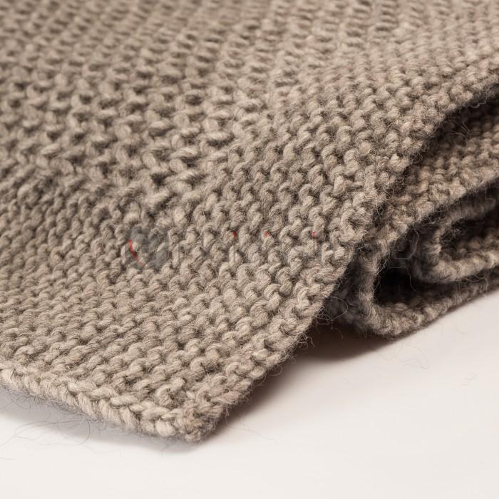 plaid en laine vierge alpaga tricot design moderne knit. Black Bedroom Furniture Sets. Home Design Ideas