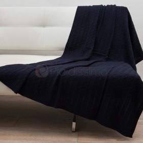 Knit - Plaid en Laine - Tricoté & Moderne