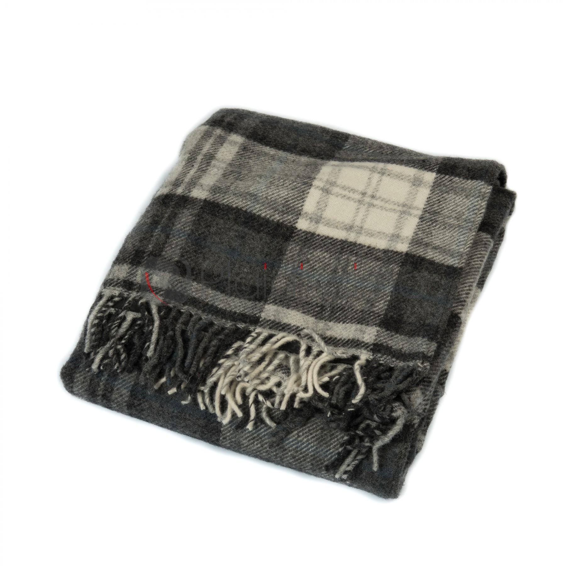 plaid de pique nique imperm able 100 pure laine vierge cottage grey. Black Bedroom Furniture Sets. Home Design Ideas
