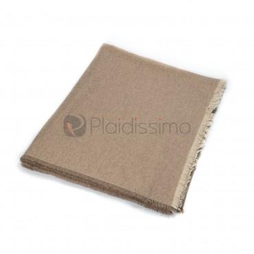 Plaid en Cachemire · Pastel et de Haute Qualité · Monaco Beige par Eagle Products