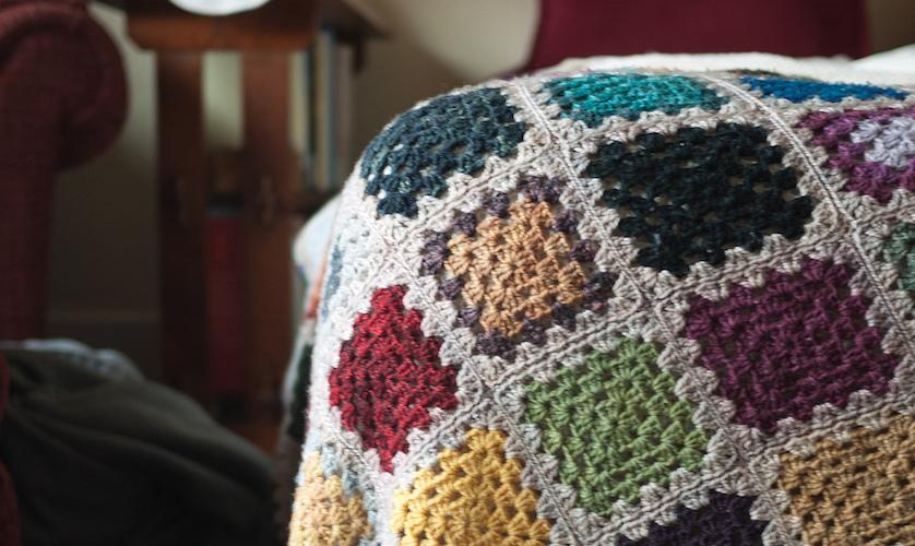 Choisir un Plaid tricoté à la main