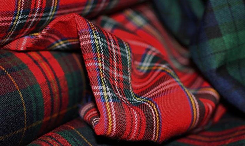 Plaid Traditionnel à Carreaux - Tartan